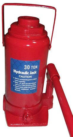 Домкрат гидравлический бутылочного типа ДГ-8