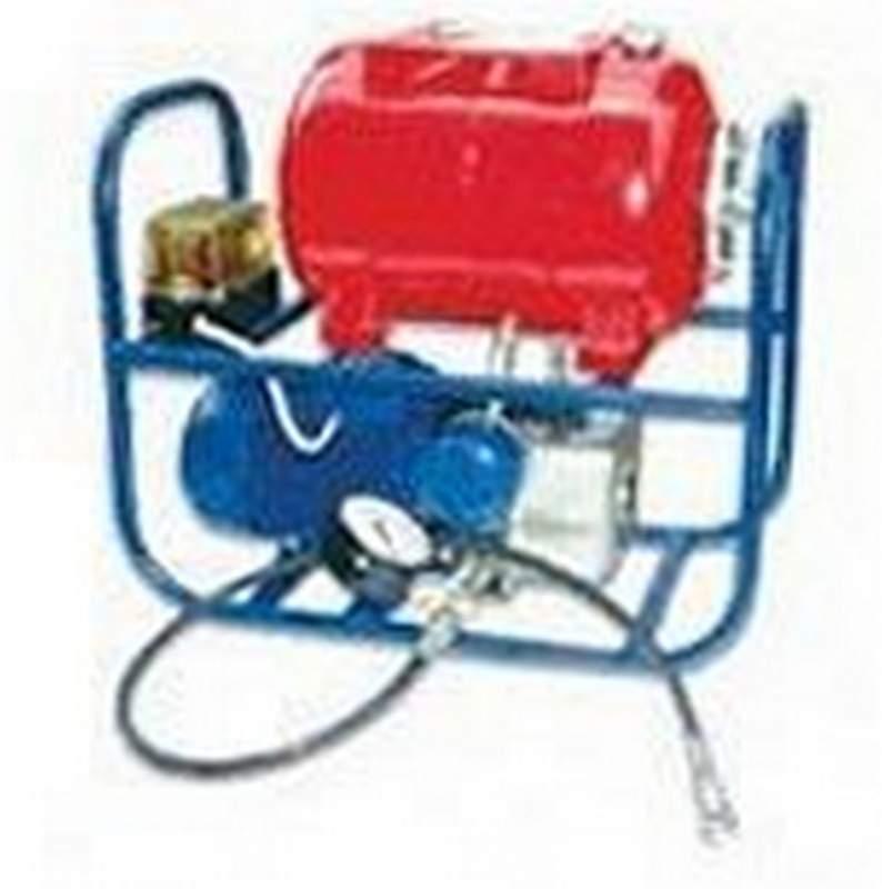 Насос с электроприводом для домкратов гидравлических НЭ63Р-2-24-1