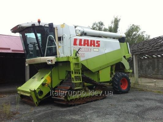 CLAAS Lexion 480 combine harvester