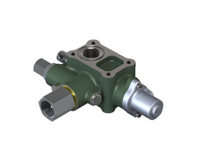 Купить Обратный гидравлический клапан с разомкнутым контуром на 4 болта Directional Check Valve ― Open Loop