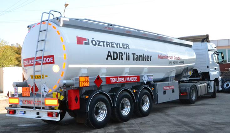 Buy Tanker truck aluminum