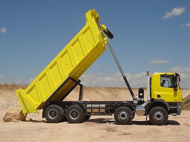 Купить Переоборудование грузовика в самосвал