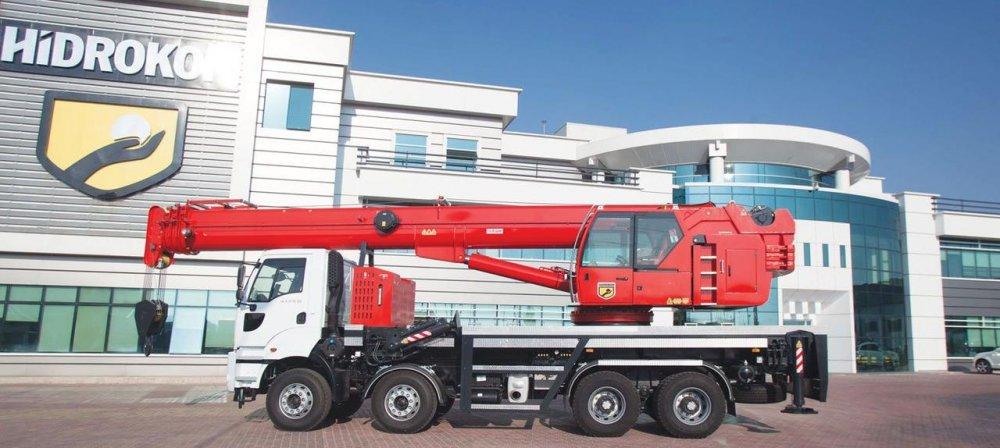 Buy Telescopic hydraulic Hidrokon truck crane (Gidrokon) of HK 120 33 T3