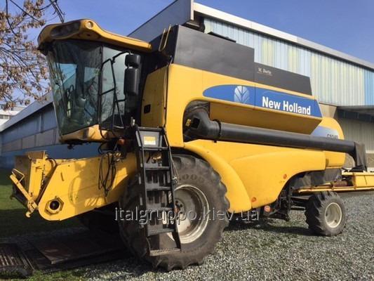 NEW HOLLAND CS 540 combine harvester