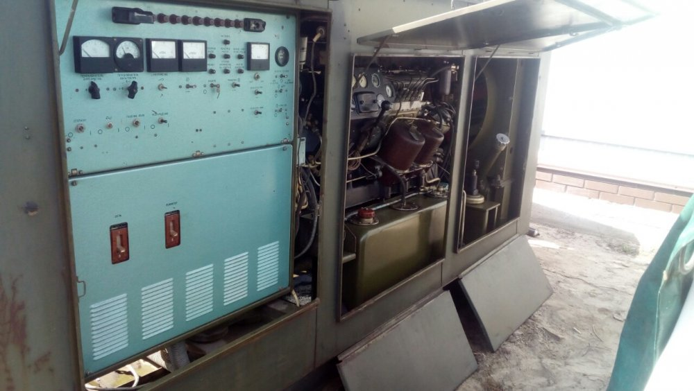 The diesel generator (power plant — the diesel generator) 50 kW (60 kVA). Conversion. AD-50-T/400.