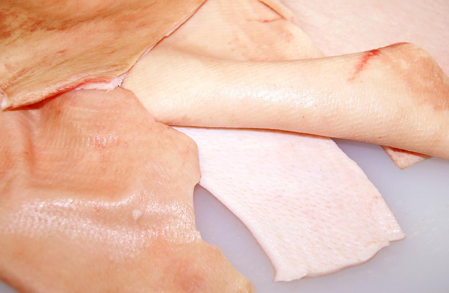 Замороженная свиная кожа (Frozen Pork Skin)