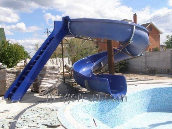 Горки для бассейнов
