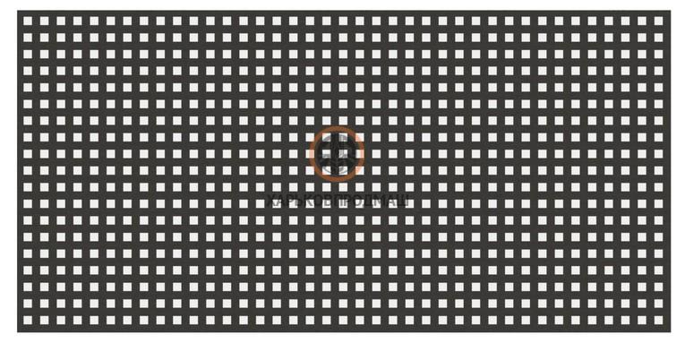 Решето с квадратными отверстиями