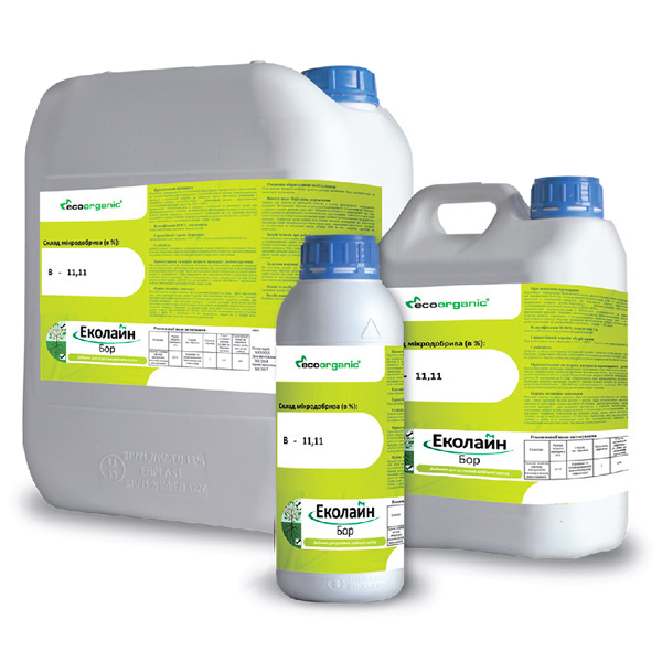 Микроудобрение  Эколайн Бор Премиум (Бор + аминокислоты)