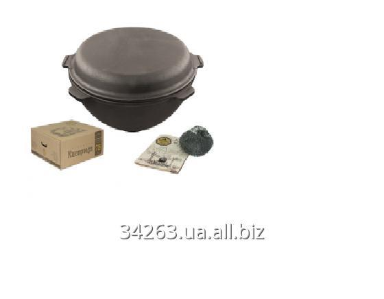 Buy Pan pig-iron with a l WOK 8 cover