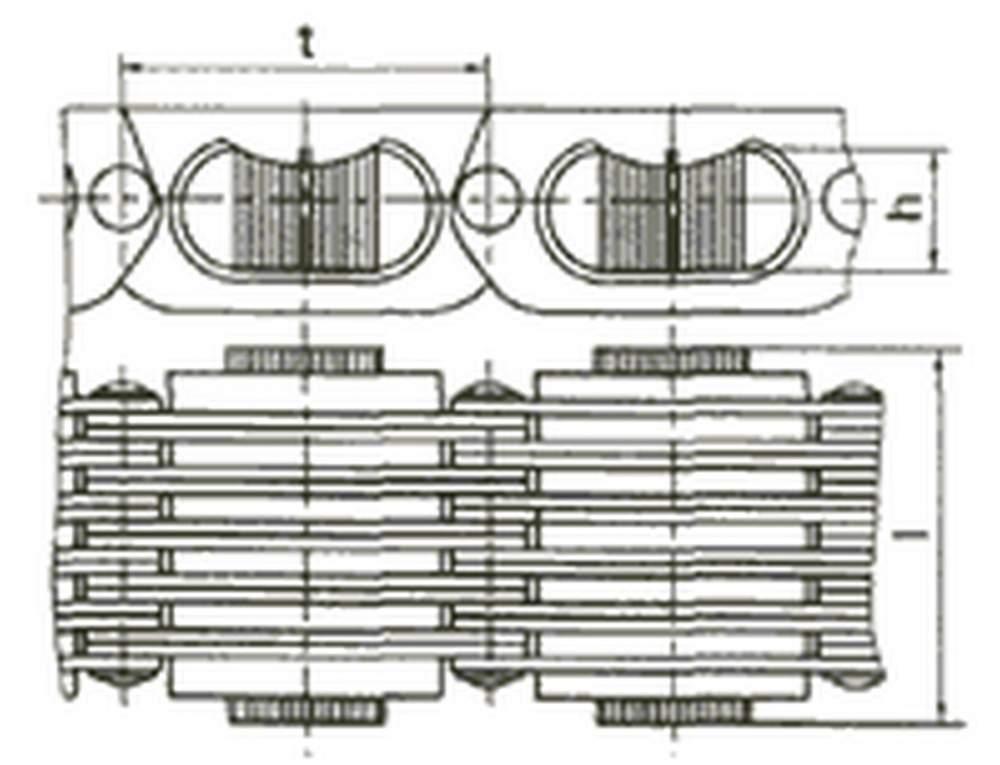 Верига variators тип CC