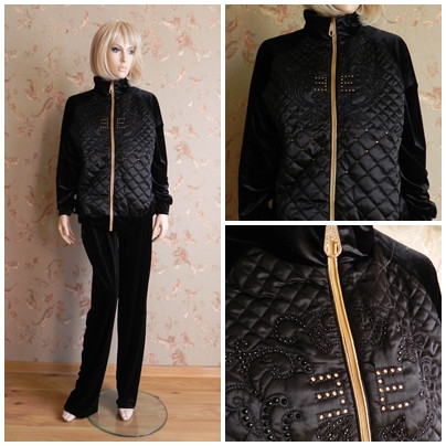 Sports suit velors female N3911