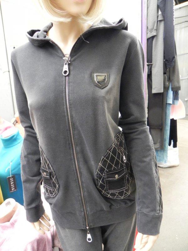 Спортивный костюм женский с капюшоном, арт. N3915b