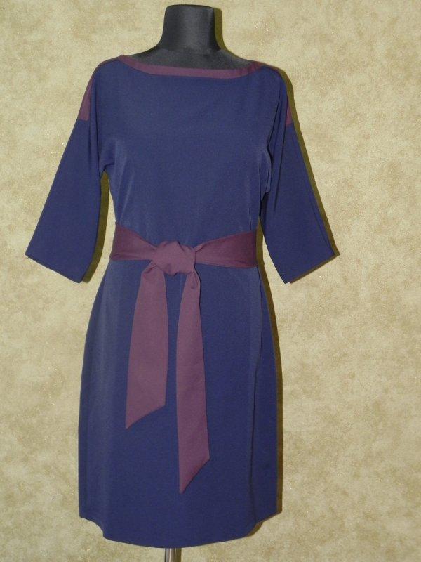 Платье с поясом, арт. 5799