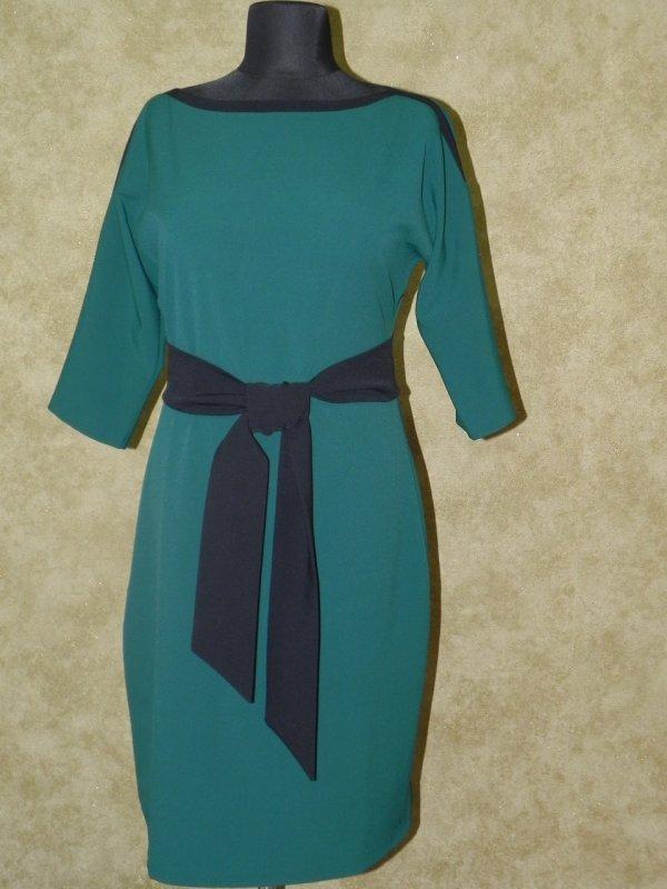 Платье с поясом, арт. 5801