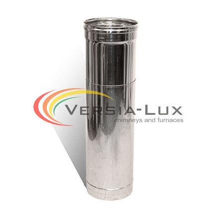 Купить Труба-удлинитель с нержавеющей стали одностенная (1,0мм) L=0.5-1.0м Ø130