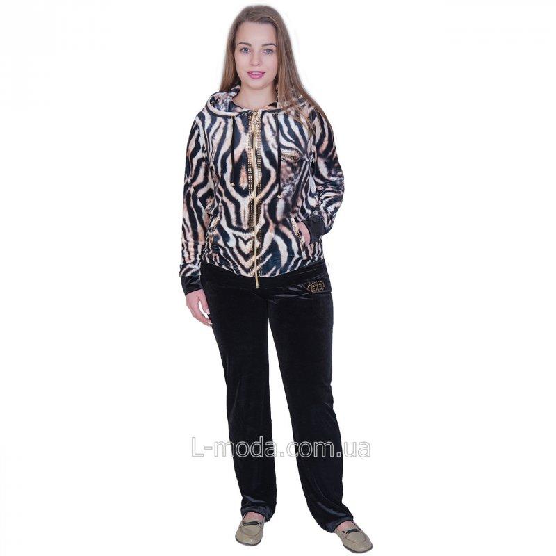 Костюм женский велюровый туретского бренда, арт. a3941