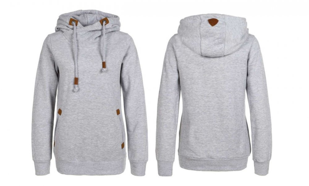 103d51cf5ddd30 Women's sweatshirt with D1174L01024AA Sublevel hood the Original Germany