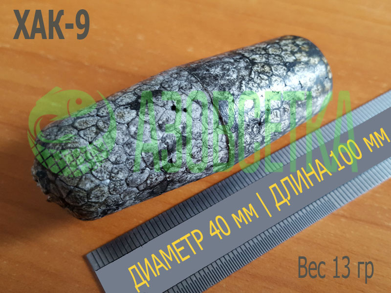 Поплавок сетевой ХАК-9, 100х40х7 из вспененного полистирола, серый