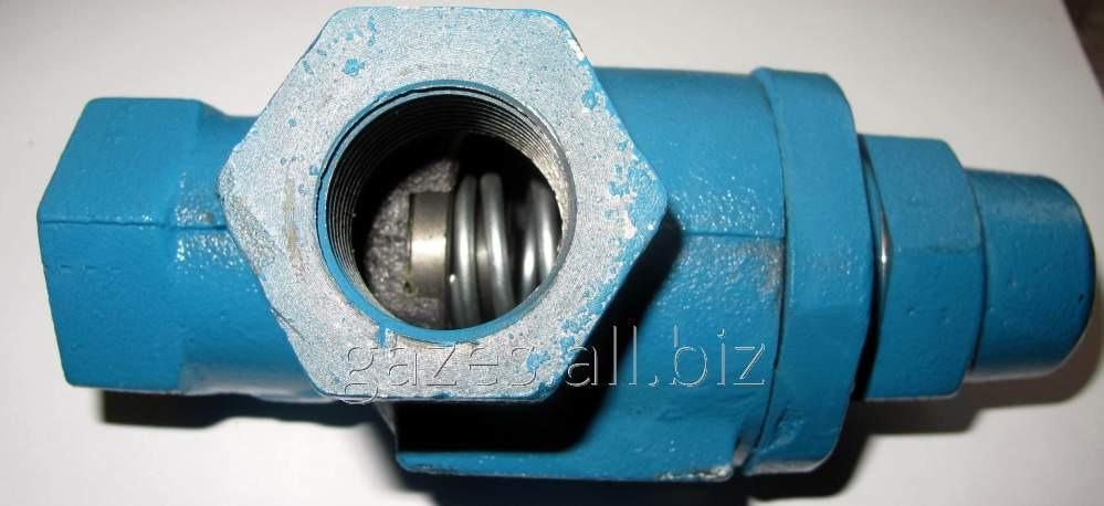 Перепускной клапан предохранительный байпасс для газопроводов СУГ на АГЗС, ГНС