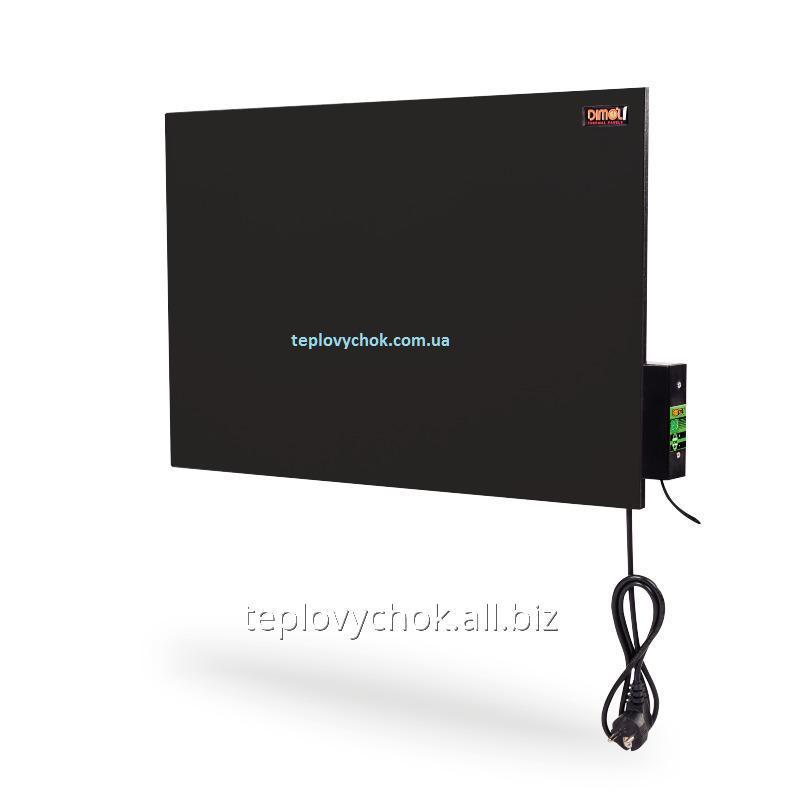 Керамическая электропанель DIMOL Mini 01 с терморегулятором (графитовая)