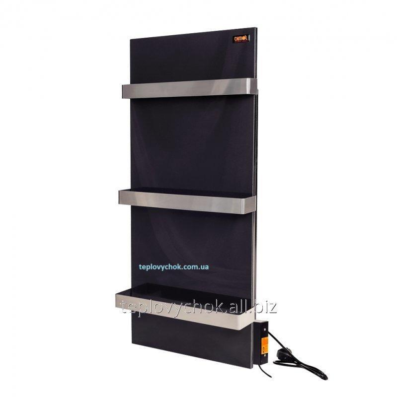 Керамическая электропанель с программатором DIMOL Standart Plus 07 графитовая  с сушкой полотенец