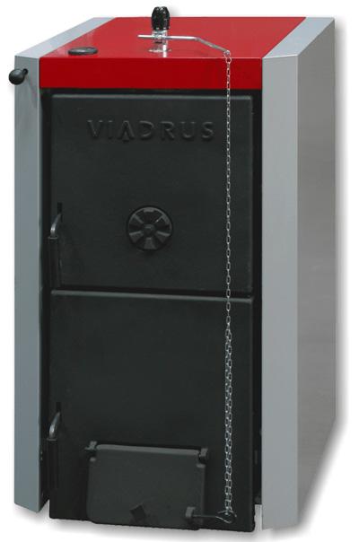 Котел твердотопливный VIADRUS U22 D 8