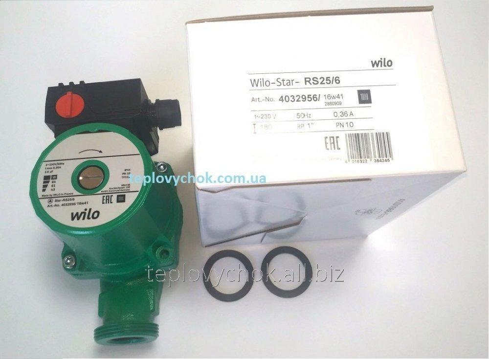 Насос циркуляционный Wilo-Star-RS 25 / 6-180
