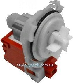 Сливной насос (помпа) для стиральной машины Bosch, Siemens на 4 защелках