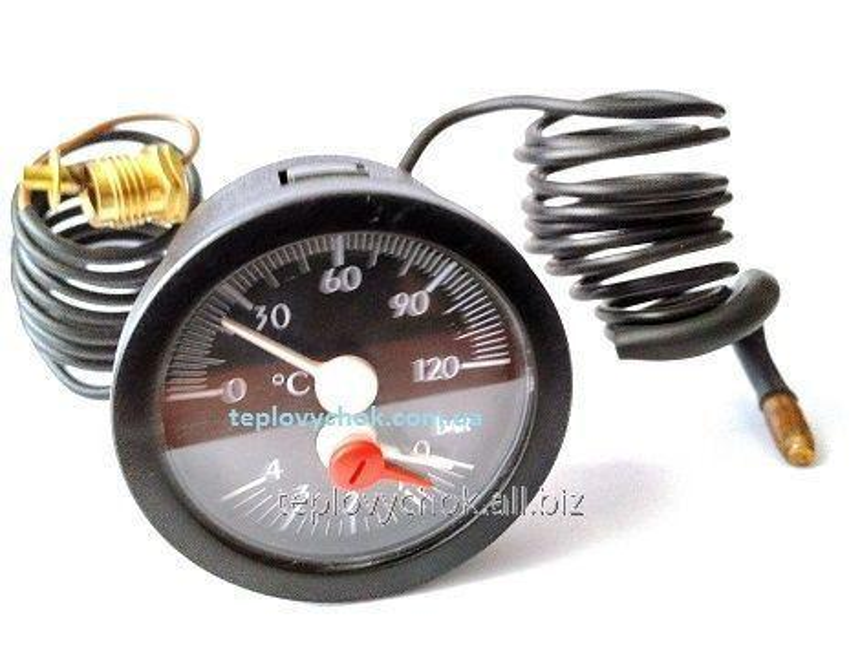 Термоманометр к твердотопливному котлу Viadrus (оригинал)