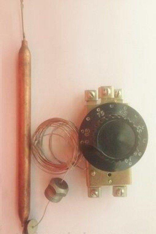 Терморегулятор (термостат)  двухполюсный капиллярный MMG 25-85°С