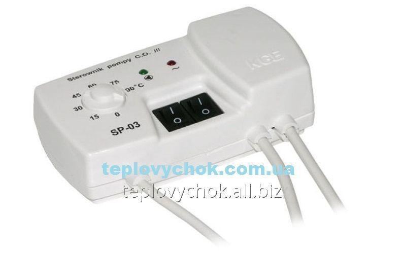 Терморегулятор для циркуляционных насосов KG Elektronik SP-03