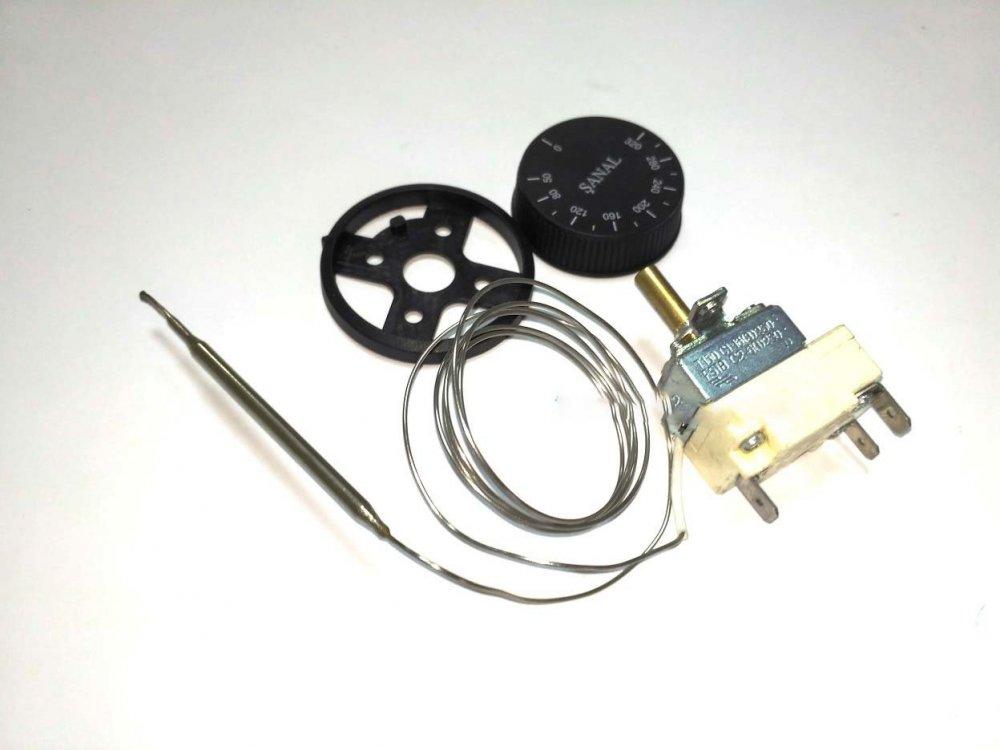 Терморегулятор капилярный для электродуховки FSTB 50-320°C 16А (SANAL)