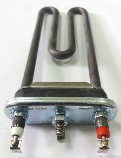 ТЭН для стиральной машины LG 1900Вт 175мм прямой без отв. под датчик