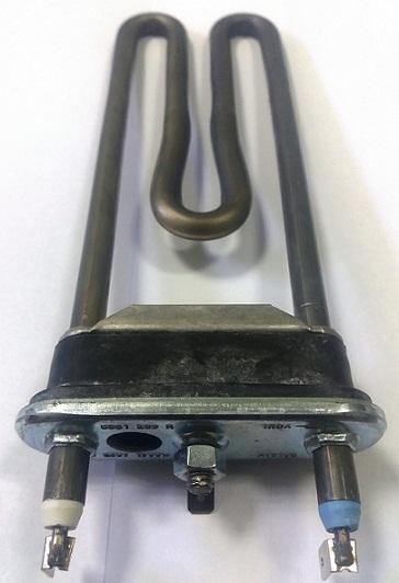 Тэн для стиральной машины SAMSUNG/Whirlpool, 1900Вт, 185мм, прямой, с отв. под датч. NTC