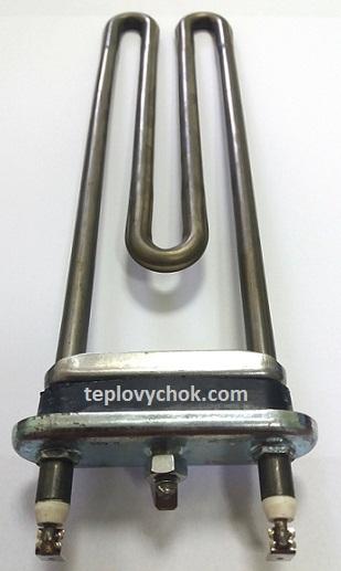 ТЭН для стиральной машины WHIRLPOOL 2050W прямой L -240 мм, без отверстия под датчик