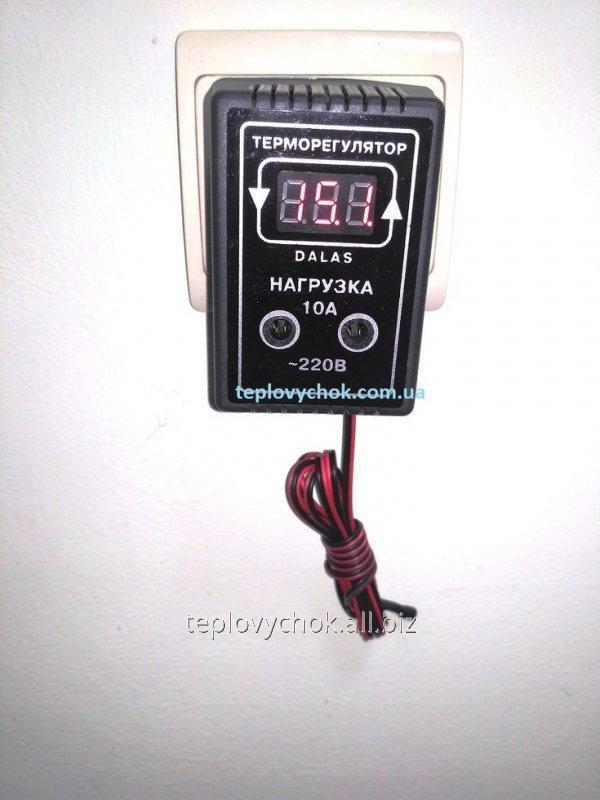 Цифровой терморегулятор для инкубатора DALAS