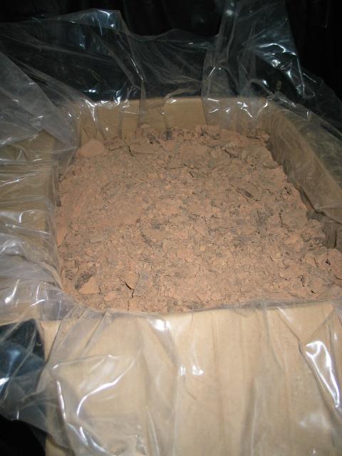 Какао жмих натуральний, Гана виробництво