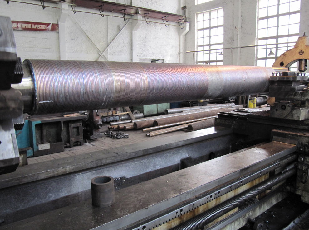 Buy Production of a plunger, naplavka, length is 6000 mm, pr-in Engineering plant the Edging, Ukraine
