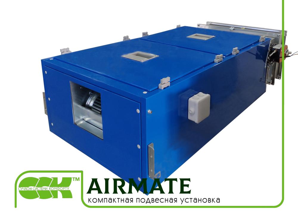Компактен стена висеше инсталация Airmate-1200. Компактен панел климатици