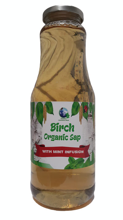 Birch sap with Organik min