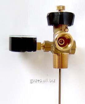 Клапан газовой фазы для резервуаров СУГ с манометром