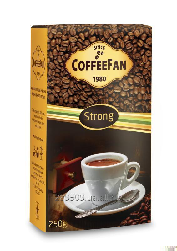 Кофе молотый CoffeeFan Strong 250г