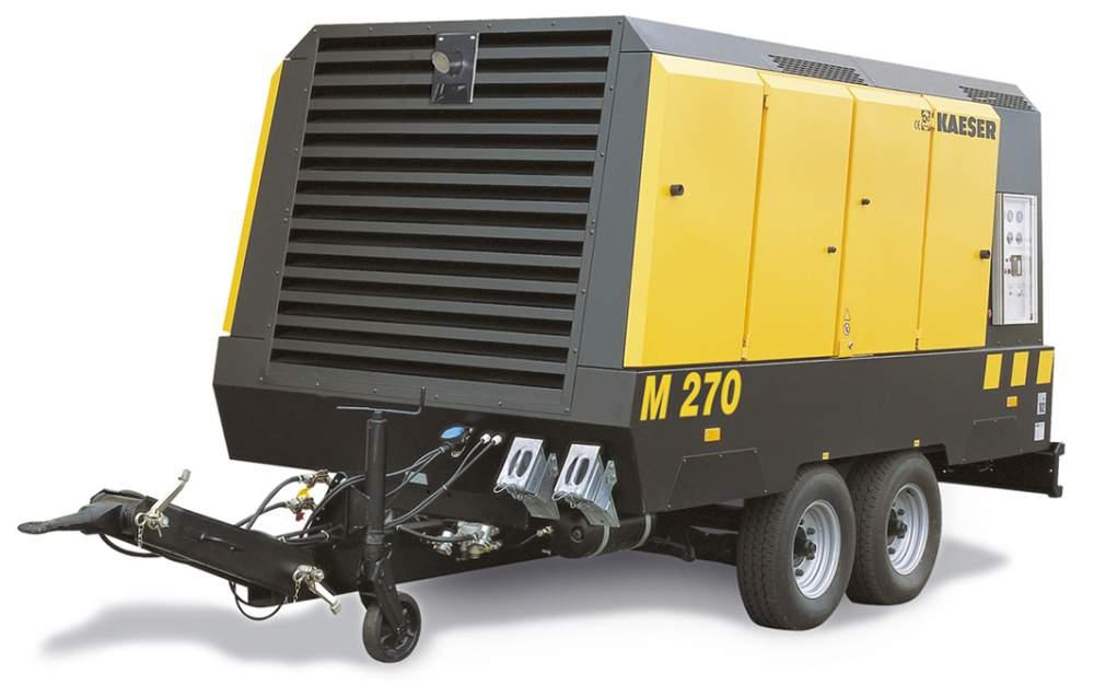 Компрессор для буровых работ 20 кубов - 10 бар Kaeser M 200