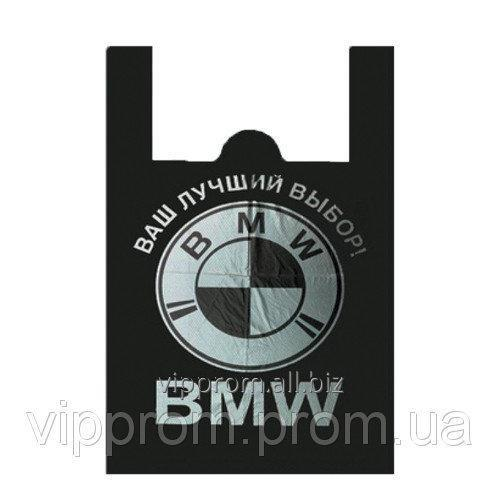 Пакет BMW SUPER BAG чорный 36х55 (50шт./уп.,500 шт./меш.)