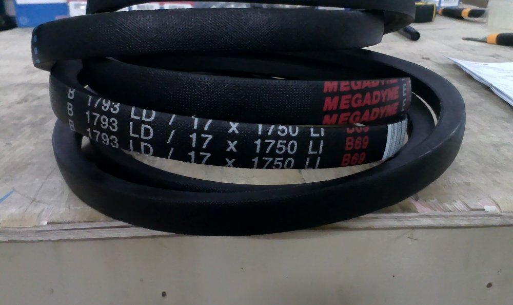 Ремень приводной Extra Classical Belt 1793 B, B 69