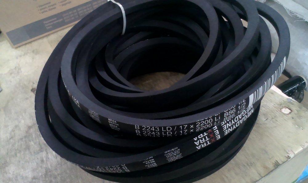 Ремень приводной Extra Classical Belt 2243 B, B 86.5