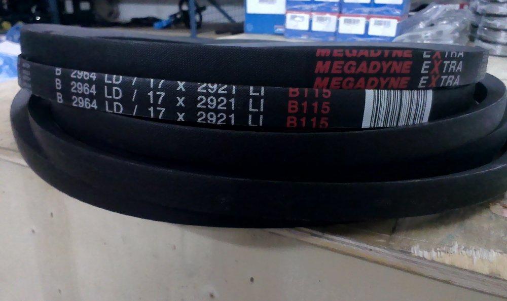 Ремень приводной Extra Classical Belt 2964 B, B 115