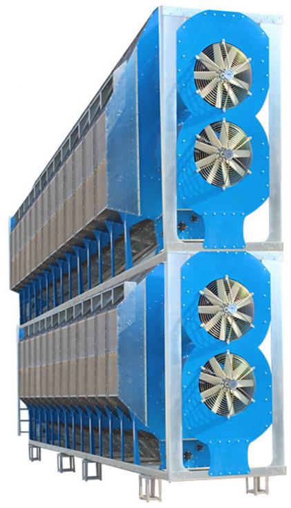 2-х модульная Зерносушилка на 13 зерновых колонн PGD-4413