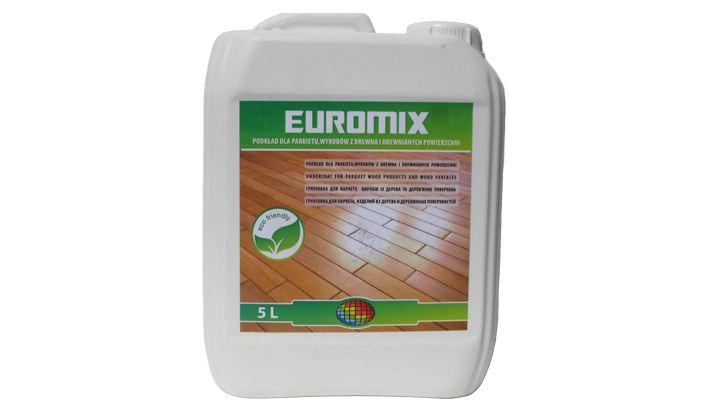 Грунтовка Euromix под паркетный лак Емкость 5 л